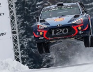 Neuville takes Rally Sweden lead into final day