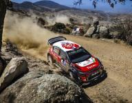 Loeb leads tight battle at Rally Mexico