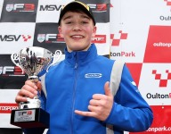 Monger on podium in first F3 race