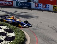 Rossi paces Long Beach warm-up