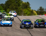 Reger's 'lap of his life' wins MX-5 Cup Race 1 at Barber