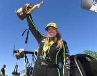 B. Force completes Force cycle at Texas; Todd, Hartford earn wins