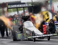 B. Force leads Top Fuel in Texas; Hagan, Anderson top Friday qualifying