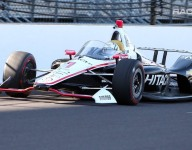 RACER video: Josef Newgarden tests the windscreen at IMS