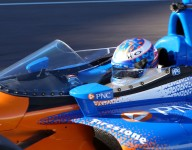 Newgarden to test windscreen at IMS