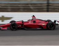 Davison back on track, but off the pace