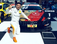 Mortara wins turbulent DTM Race 1 at Lausitz
