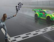 Manthey-Porsche earns record sixth Nurburgring 24 Hour win