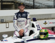 13th a special Indy 500 starting spot for Claman De Melo