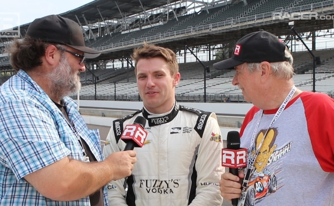 RACER video: Indy GP qualifying report with Jordan King