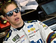 Keselowski unhappy with Goodyear's Michigan rubber
