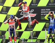 Lorenzo dominates MotoGP Catalunya for second straight win