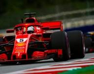 Vettel hits the front in Austria FP3, Verstappen hits trouble