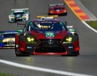 Hawksworth takes last gasp GTD pole for Lexus at The Glen