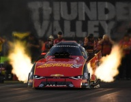C. Force, Millican, Anderson lead Friday qualifiers at Bristol