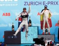 Di Grassi wins Zurich E-Prix in circuit racing's Switzerland return