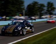Estep recovers from practice crash to win Porsche GT3 Cup Challenge USA