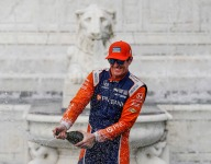 Dixon ties IndyCar milestone with Detroit win