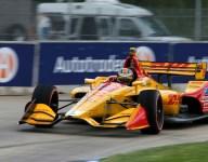 Andretti trio comes up short at Detroit