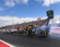 NHRA confirms balance of 2020 schedule