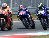 Marquez wins wild Assen race