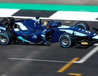Albon claims Silverstone F2 feature