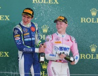 Gunther cruises to first F2 win in Silverstone sprint