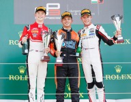 Boccolacci closes points gap with Hungary GP3 win