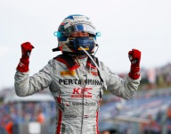 De Vries storms to wet-dry F2 win in Hungary
