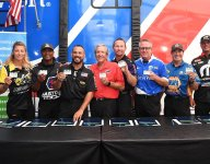 Don Schumacher, 7 DSR drivers pledge brain donation for research