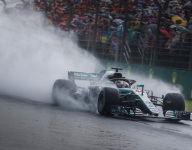 Hamilton snatches last-gasp pole in wet Hungary qualifying