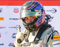 Dickerson takes lead in F4 U.S. Championship after mid-season event