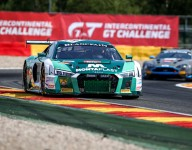 Montaplast by Land Audi leads after six of 24 Hours of Spa