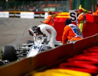 Halo likely saved Leclerc from debris strike - Whiting