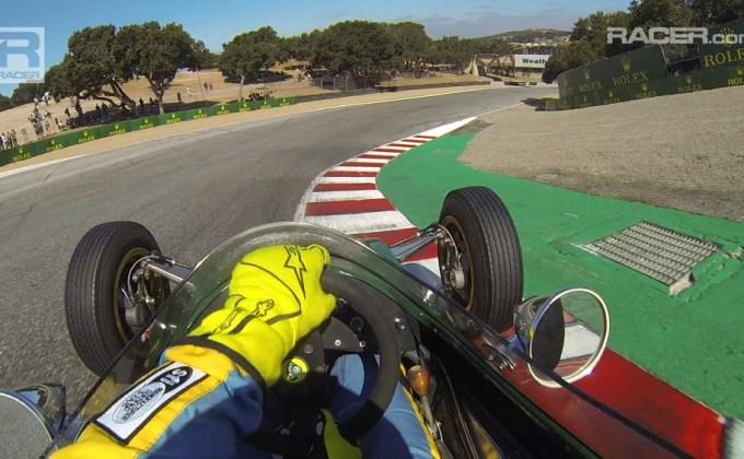 Video: Full race 1963 Lotus 27 Formula Junior at Monterey with Danny Baker