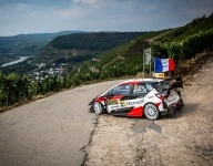Tanak leads opening stages of Rally Germany