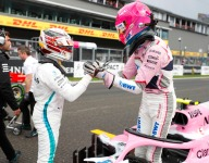 Wet conditions let me shine - Ocon