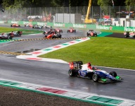 Beckmann cruises to GP3 Race 1 win in the wet