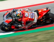 Dovizioso wins third straight for Ducati at Misano