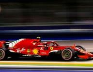 Raikkonen fastest in FP2 as Vettel hits the wall