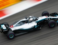 Mercedes hits the front in Russia FP2 as Vettel spins