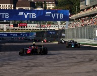 Russell extends GP2 lead with wet/dry Sochi Race 2 win