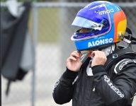 VIDEO: Alonso's IndyCar test at Barber