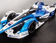 BMW i Andretti unveils car, adds Sims to driver lineup