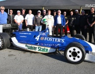 RACER video: 1990 March Porsche IndyCar shakedown with Pat Long