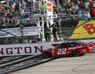 Keselowski takes command late for Darlington Xfinity win