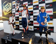Two poles and a podium for Monger in Donington return
