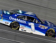 NASCAR video: Emotional night for Earnhardt, Sadler