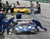 Divergent paths, hopes for Ford and Corvette at Petit