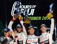 No. 7 Toyota wins first of the season at Fuji